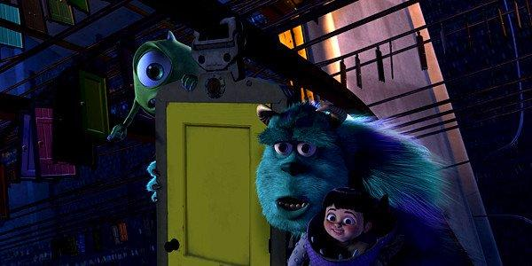 "Mike, Sulley and Boo in ""Monsters, Inc. 3-D."""