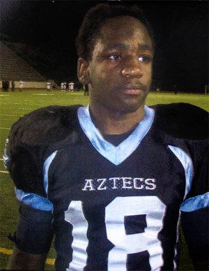 In this undated family photo Kendrec McDade is seen as a high school student. In March, when he was a 19-year-old college student, McDade was fatally shot by two Pasadena police officers. The controversial shooting sparked protests and outrage in Pasadena, with some drawing comparisons to the killing of Trayvon Martin in Florida.