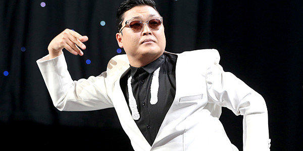 Singer Psy performs onstage during KIIS FM's 2012 Jingle Ball.