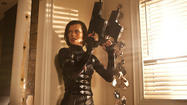 As long as the action movies in this video-game-inspired franchise keep coming, Milla Jovovich never has to worry if she'll work again. She again plays Alice, the heroine fighting the sinister Umbrella Corporation in a futuristic world devastated by a zombie-generated virus.