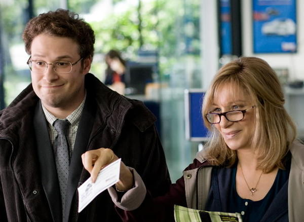 "Seth Rogen and Barbra Streisand star in ""The Guilt Trip."""