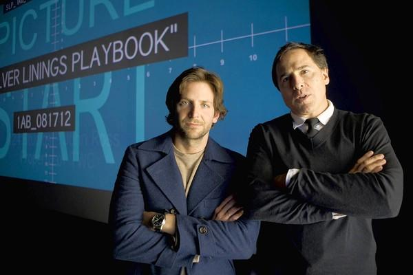 "Actor Bradley Cooper and director David O. Russell worked closely together on the script of ""Silver Linings Playbook."""