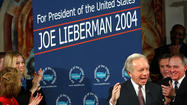 Lieberman Announces Campaign For President