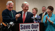 Lieberman, Others Win Fight To Save Groton Base