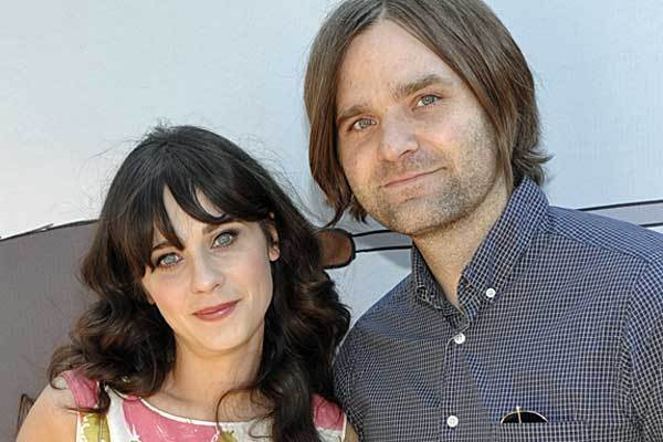 Zooey Deschanel divorced