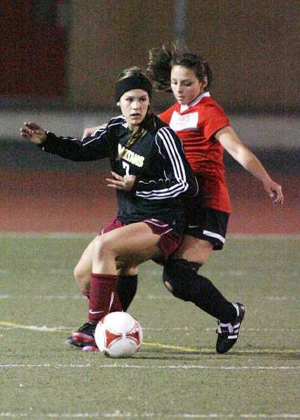 La Canada sophomore forward Megan Decker recorded her second hat trick of the season for the Spartans.