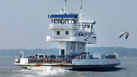 VDOT: Jamestown-Scotland Ferry running at reduced capacity