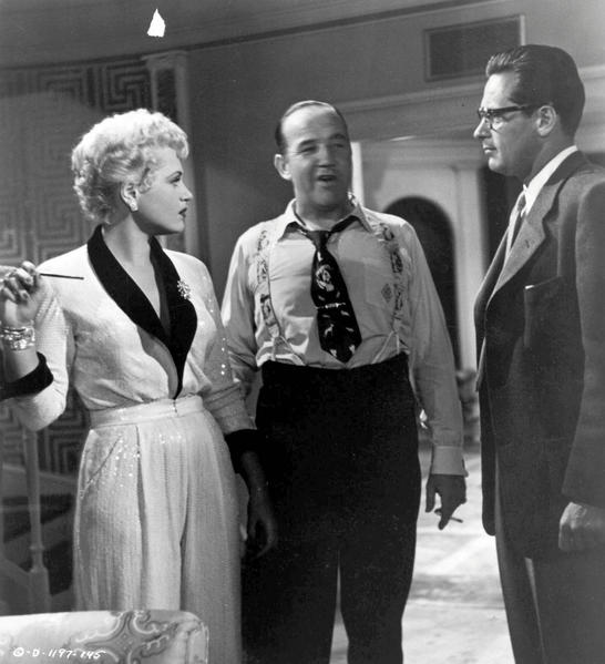 Judy Holliday won a best actress Oscar as not-so-dumb-blonde Billie Dawn in this political satire directed by George Cukor.