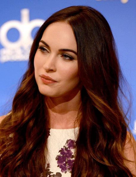 Actress Megan Fox onstage during the 70th Annual Golden Globes Awards Nominations at the Beverly Hilton Hotel on December 13, 2012 in Los Angeles, California.