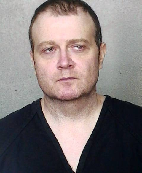 Booking mug of Scott Allen Stoner, 41.