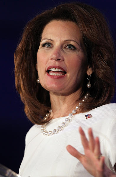 """What submission means to us ... it means respect. I respect my husband ... and he respects me as his wife."" <br><br> - Michele Bachmann, in response to a question at a GOP debate about whether she'd be submissive to her husband if she became president. Sexist question? Yes. Baffling answer? Oh, yeah."