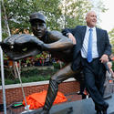 Sports moment 1 -- Cal Ripken Statue unveiling