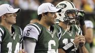 The New York Jets announced Tuesday that former third-stringer Greg McElroy will replace the struggling Mark Sanchez and leapfrog No. 2 Tim Tebow to start at quarterback against the San Diego Chargers on Sunday.