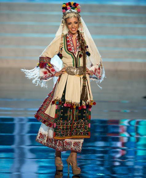Miss Universe 2012 National Costume Pictures: Zhana Yaneva, Bulgaria