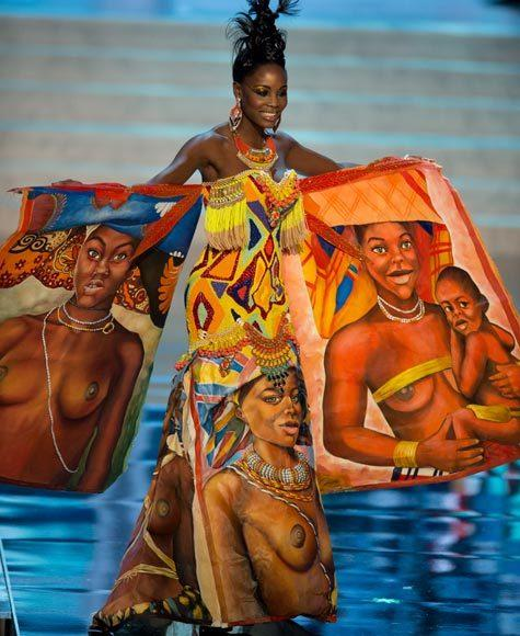 Miss Universe 2012 National Costume Pictures: Marcelina Vahekeni, Angola