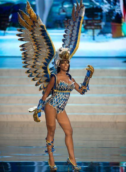 Miss Universe 2012 National Costume Pictures: Monifa Jansen, Curacao