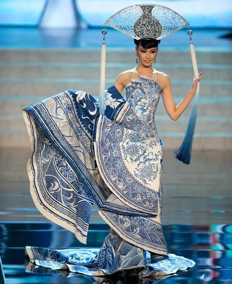 Miss Universe 2012 National Costume Pictures: China