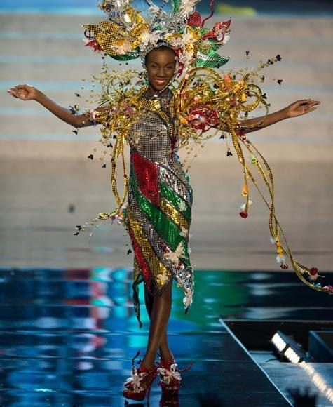 Miss Universe 2012 National Costume Pictures: Ruqayyah Boyer, Guyana