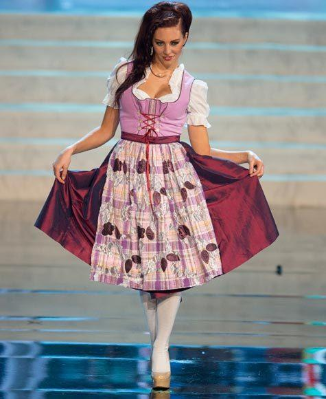 Miss Universe 2012 National Costume Pictures: Alicia Endemann, Germany