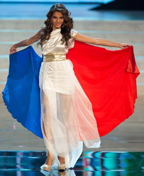 Miss Universe 2012 National Costume Pictures: Marie Payet, France