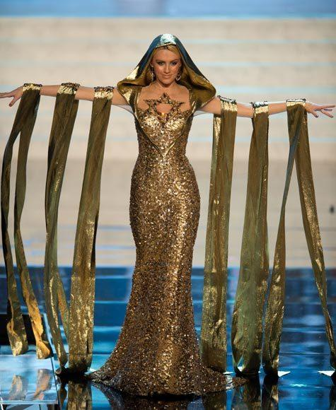 Miss Universe 2012 National Costume Pictures: Lina Makhuli, Israel