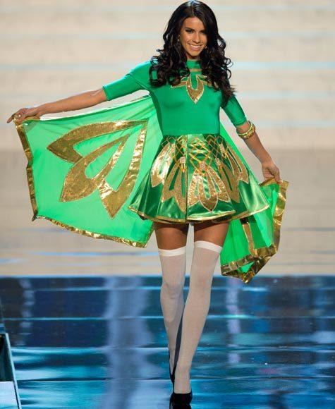 Miss Universe 2012 National Costume Pictures: Adrienne Murphy, Ireland