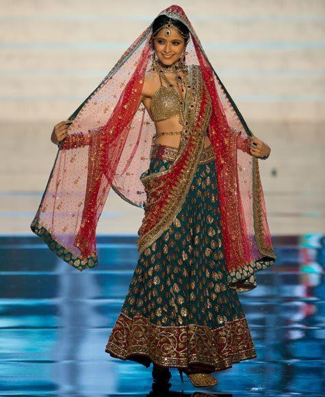 Miss Universe 2012 National Costume Pictures: Shilpa Singh, India