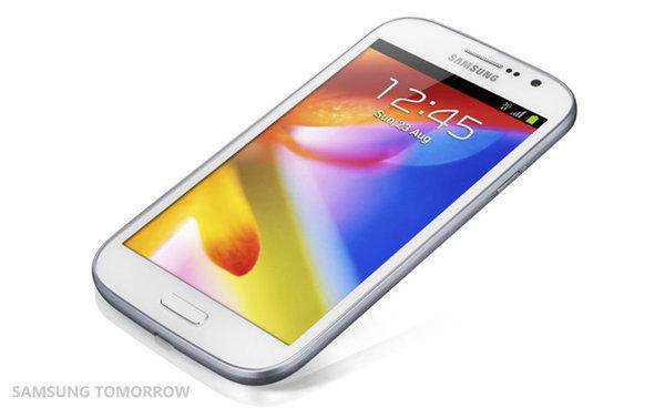 Samsung introduced a new mid-range phone with a 5-inch screen called the Galaxy Grand early Tuesday. The South Korean electronics company is set to displace Nokia as the top cellphone brand in the world.