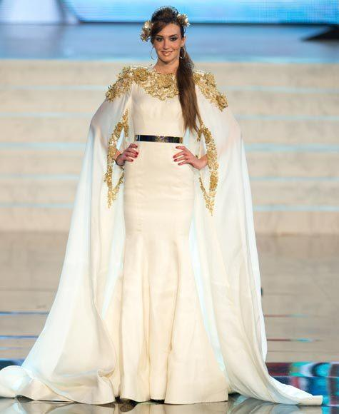 Miss Universe 2012 National Costume Pictures: Rina Chibany, Lebanon