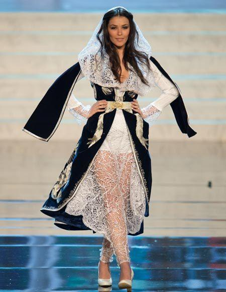 Miss Universe 2012 National Costume Pictures: Diana Avdiu, Kosovo
