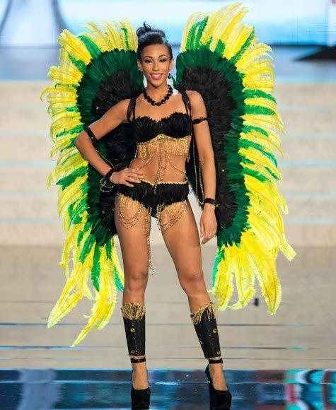 Miss Universe 2012 National Costume Pictures: Chantal Zaky, Jamaica