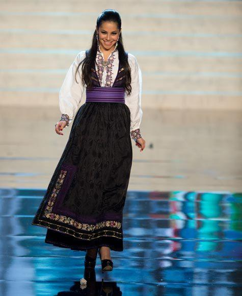Miss Universe 2012 National Costume Pictures: Sara Nicole Anderson, Norway