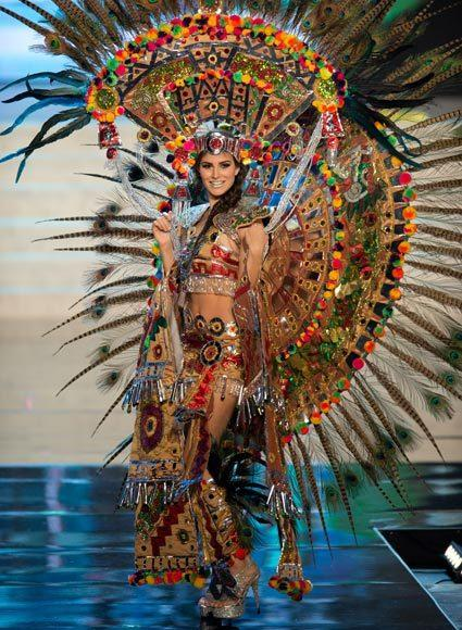 Miss Universe 2012 National Costume Pictures: Karina Gonzalez, Mexico