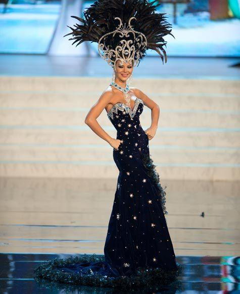 Miss Universe 2012 National Costume Pictures: Egni Eckert, Paraguay