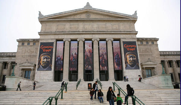 The Field Museum, Friday, April 13, 2012.   (E. Jason Wambsgans/Chicago Tribune)