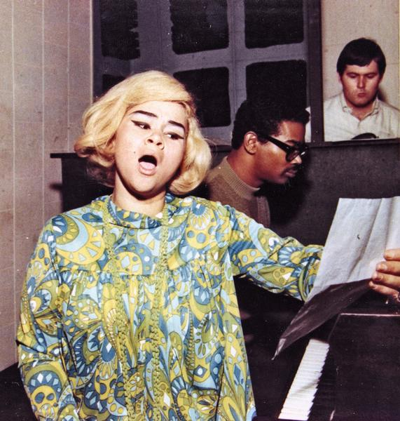 "<b>Etta James</b> <br><br> Those first two notes of ""At Last."" Hers. All hers.  <br><br> <i>James died on Jan. 20 of complications from leukemia. She was 73.</i>"