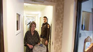 Seven days before Christmas and a 75 year old woman is being evicted from her apartment in Montgomery County.