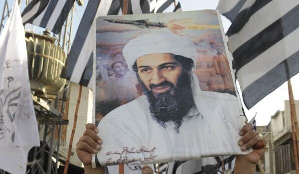 Supporters of a hardline pro-Taliban party carry an image of Osama Bin Laden on May 2, 2011, to protest his death by U.S. Special Forces in a ground operation in Pakistan's hill station of Abbottabad.