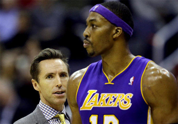 Steve Nash, Dwight Howard