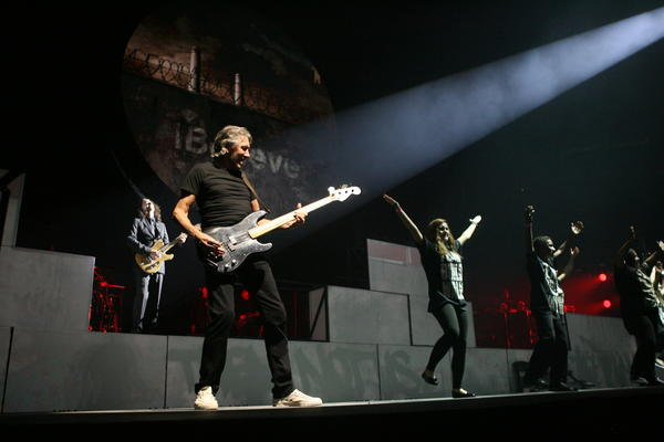 Roger Waters performs the Wall live at Amway Center in Orlando, Fla. on Saturday, June 16, 2012.