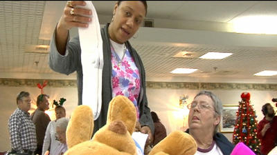 Bustling holiday shopping comes to Martinsville nursing home