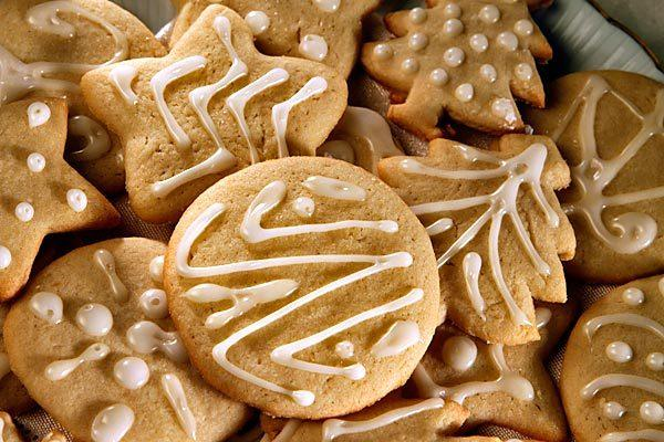 Amanda's amazing sugar cookies.