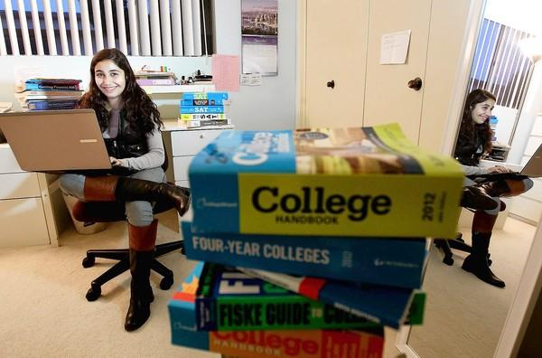 Santa Monica High senior Hannah Kohanzadeh has embraced the trend toward more revealing college application questions, writing about how she flaps her arms when something excites her.