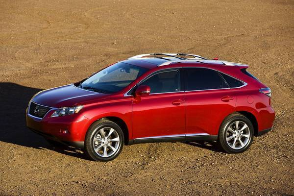 The 2010 Lexus RX 350 was recalled by Toyota in 2012 over a risk of stuck gas pedals. Federal law requires auto manufacturers to notify the National Highway Traffic Safety Administration within five business days of discovering a safety defect and to promptly issue a recall.