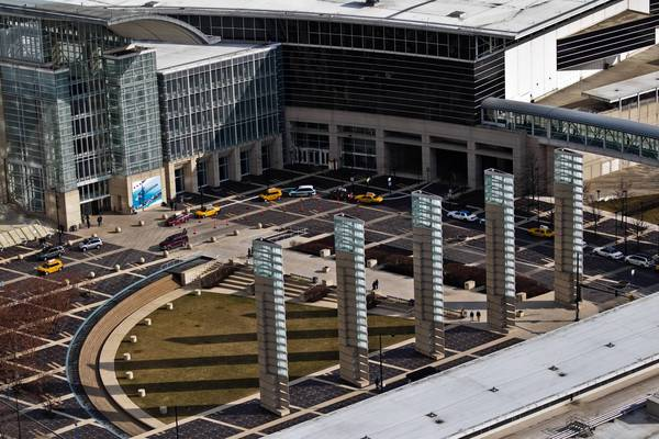Convention officials have said a casino on the McCormick Place campus or its immediate vicinity could pull trade show attendees away from the show floor.