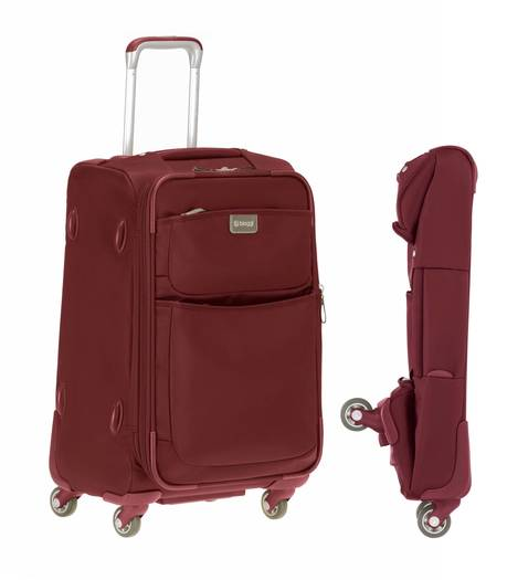 Biaggi Contempo 22-inch foldable spinner carry-on