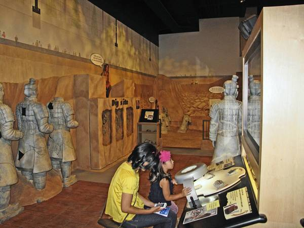 The Archeology Zone at the Indianapolis Children's Museum