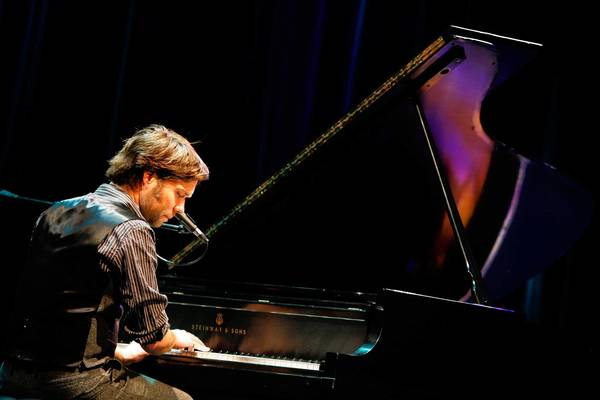 "Rufus Wainwright performs ""O Holy Night"" during his holiday concerts."