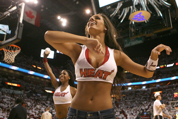 <b>Photos:</b> Miami Heat Dancers in action - Miami Heat vs. Chicago Bulls