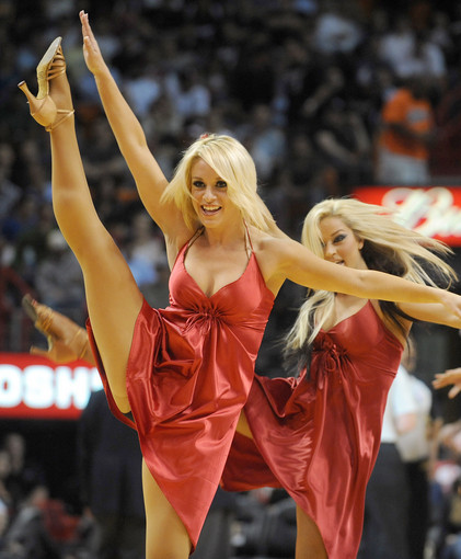 <b>Photos:</b> Miami Heat Dancers in action - Against Wizards
